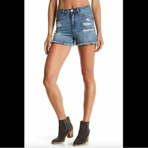 NWT Joe's Jeans Distressed Jean High Waist Shorts